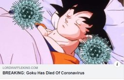 Goku and corona virus