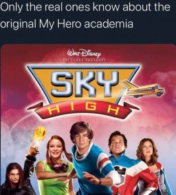 Only the real ones know about the original My Hero academia