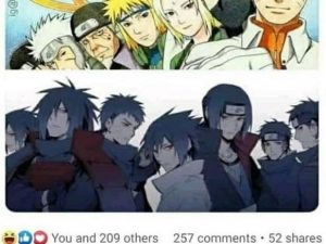 The Seven Hokage vs the Six Strongest Uchiha Who Wins?